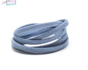 1 m cord/strap in John 5 x 2 mm, light blue uni