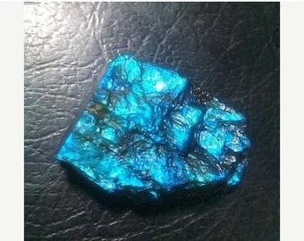 80% OFF SALE Labradorite Blue Flashy Rough Druzy