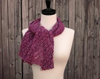 Crochet Pattern-- Portola Lace Shawl --Crochet Pattern