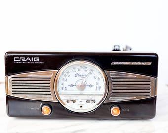 Craig Turntable Radio System