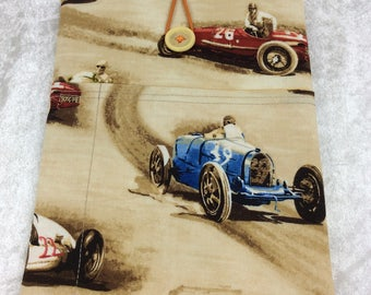 Racing Cars Tablet Case Cover Pouch iPad Kindle Small Vintage Classic Cruisers