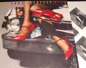 The Cars -  Greatest Hits - Vintage Vinyl Record LP  - Free Shipping!