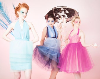Full Tulle Dress, Bridesmaid or Prom