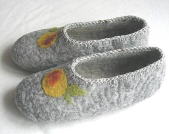 Felt shoes, slippers gr. 35/36