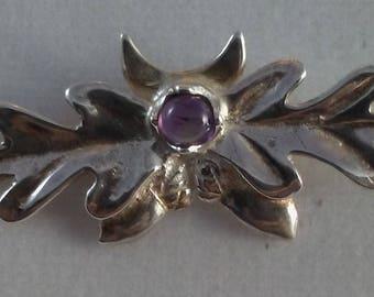 Oak Acorn Sterling Silver pin