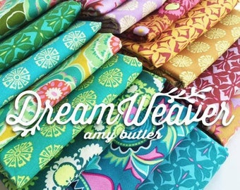 Amy Butler Dream Weaver   Free Spirit Fabrics   Charm Packs   Quilt Fabric   Precuts   Fabric Bundle   Quilting Cotton