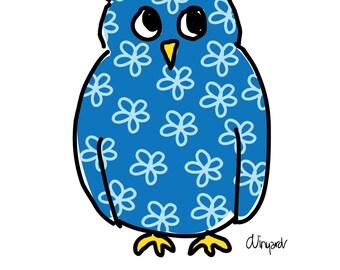 Kappa Kappa Gamma Owl Sorority Notecard Set Officially Licensed