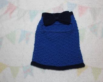 Cat crochet sweater, cat clothes, pet clothes, crochet, dog clothes, dog sweater