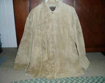 Beautiful Vintage Suede/Leather Brandon Thomas Jacket