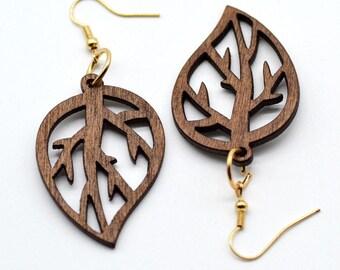 Earrings Tree Leaves Inspired