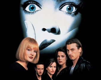 Spring Sales Event: SCREAM Movie Poster Horror Wes Craven