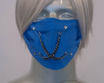 Blue J-Rock Surgical Mask