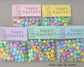 Easter basket filler happy easter bag topper classroom happy easter bag topper easter basket filler classroom gift easter bunny easter party favor ideas kids easter gift set of 10 negle Gallery