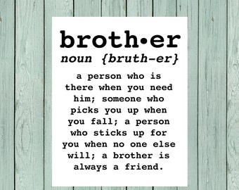 Brother Sign ** DIY Printing - Digital File *****INSTANT DOWNLOAD****(Brother-Def)