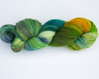 Wool Tricotcolor handdyedwool knit crochet wool knit weaving tricotcolor Merino creative supply dye colors