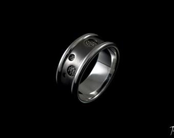 Holey Mesh Ring