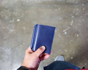 Journal, Leather Cover for XS Moleskine Volant
