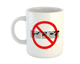 No DECAF Guitar Mug