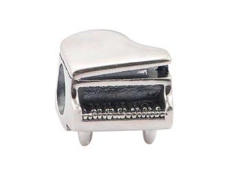 Piano Charm 925 Sterling Silver Charm Fits to all Pandora Charm Bracelets c15b92068387