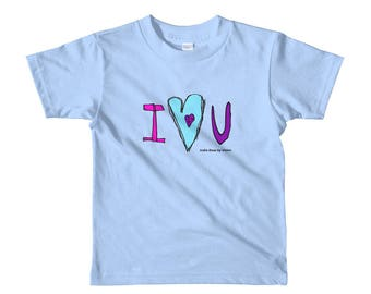 I Heart You - Limited Edition Kid's Designer tee - India Rose