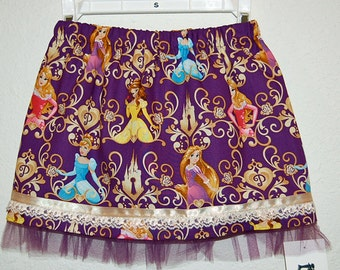 Disney Princess print girl's skirt