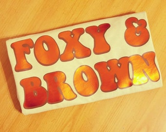Foxy & Brown Tee