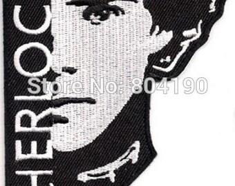 Sherlock Holmes Movie TV Patch - Iron On or Sew On - Sherlock Holmes - Free Shipping.