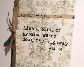 Band of Gypsies Journal