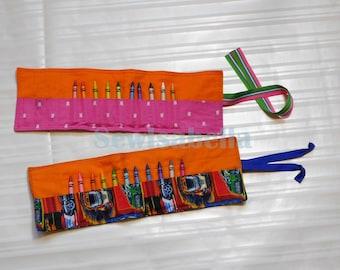 Fabric Crayon Holder