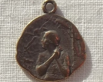 Bronze St. Joan of Arc Medal at the Stake VP1069
