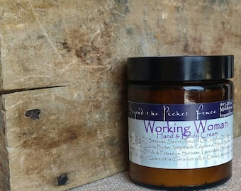 Working Woman's Hand Cream - lavender, geranium and lemon