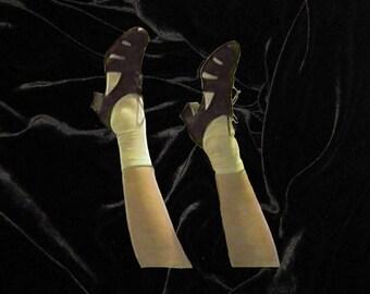 Dark Brown Sandals Heels