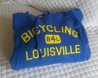 Bicycling for Louisville Hoodie
