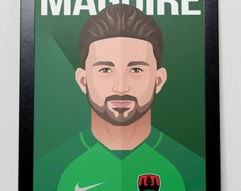 Sean Maguire Poster - Cork City