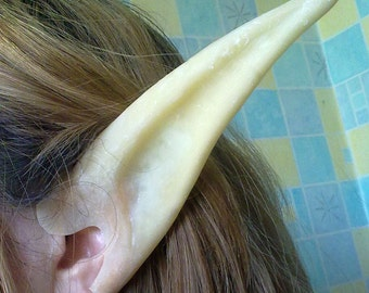 Elf Ears latex - middle length - Cosplay - LARP