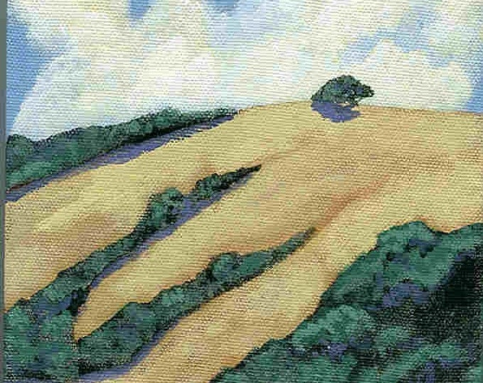 Valley notecard no. 2 greeting card