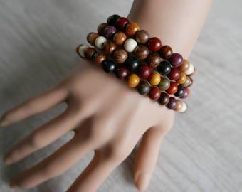 Prayer Bracelet Mala 108 Mixed Sandalwood
