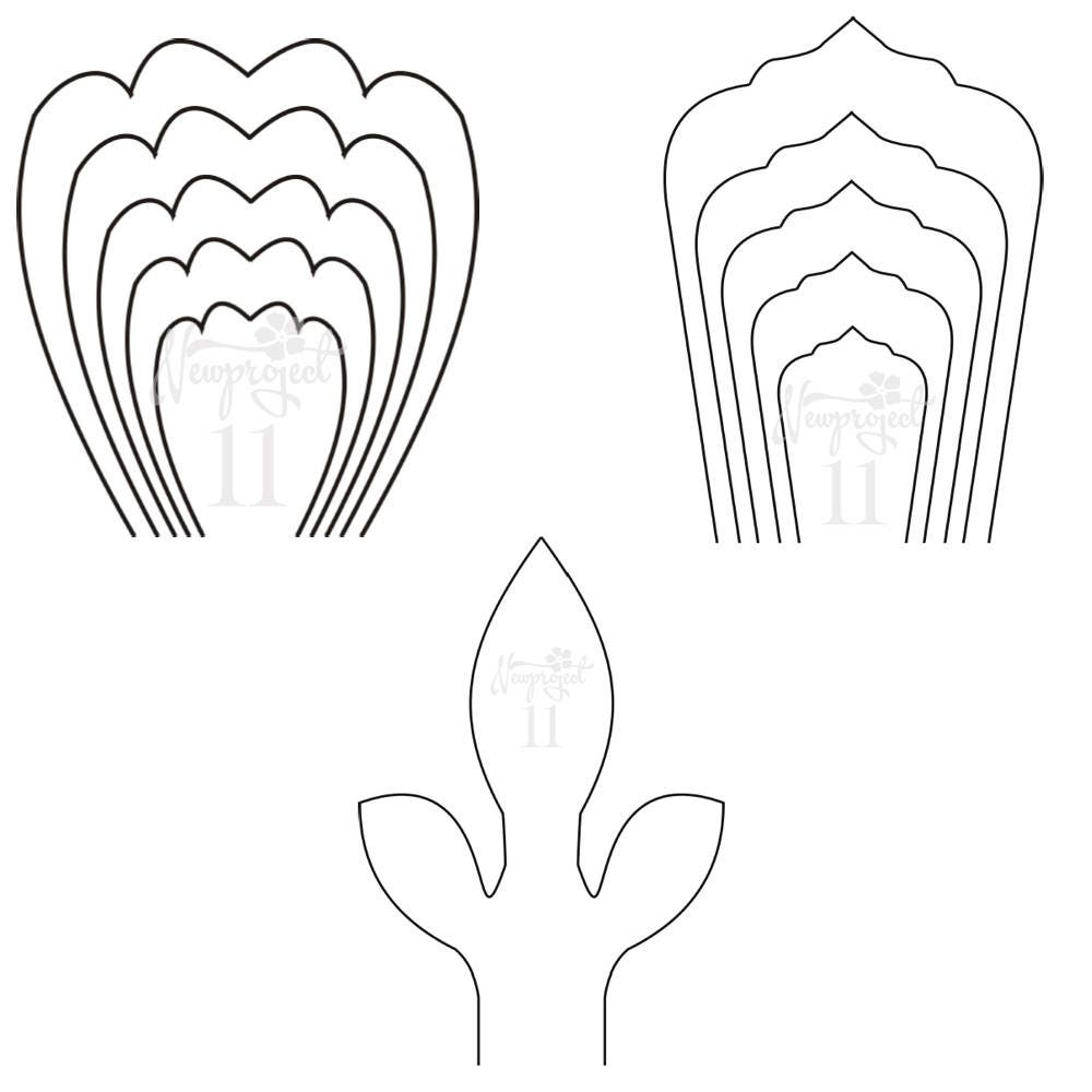 Giant Flower Template Pictures In Gallery With Giant Flower Template