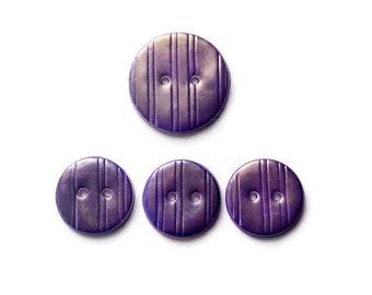 Decorative Buttons - Handmade buttons - Button Scarf - Sewing Supplies-Handmade Polymer clay Buttons - Knitting Supplies - Purple Buttons