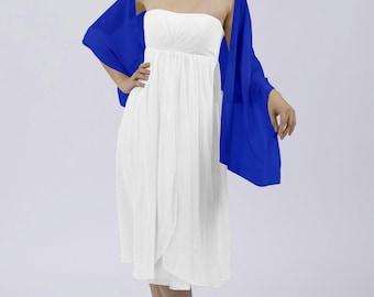 Royal Blue Shawl by Matchimony