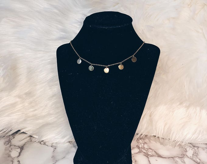 Featured listing image: 5 Meals Necklace (gold)