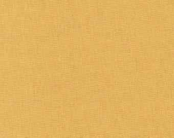 Butterscotch Yellow KONA Cotton from Robert Kaufman Fabrics - K001-349