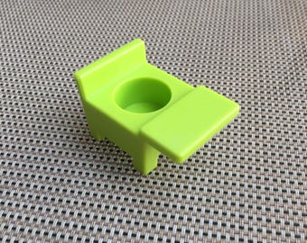 Vintage Fisher-Price Little People Green Student's Desk for School
