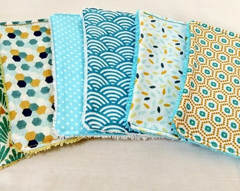 eco-friendly cotton wipes -( BABY CLEANING WIPES, washcloth, unpaper towels, make up remover pads)