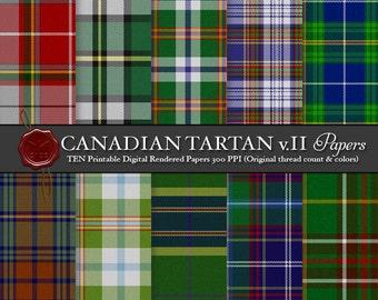 Digital Canadian tartans: Cape Breton, Inverness County, Lake Ainslie District, Newfoundland, Nova Scotia, Pictou County, Sons of Scotland