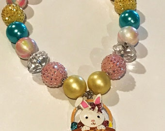 Easter Chunky Bubblefum Necklace