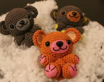 Amigurumis, blanket, Teddy bear, animal