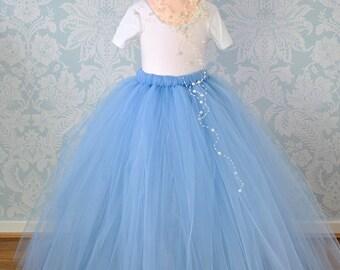 Long Tutu, Full Length Tutu, Tutu Skirt, Girls Tutu, Tulle Skirt, Flower Girl Tutu, Baby Tutu, Tulle Tutu, Flower Girl Dress, Wedding Tutu