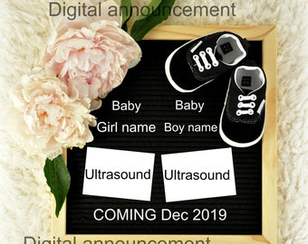 Digital Gender Reveal