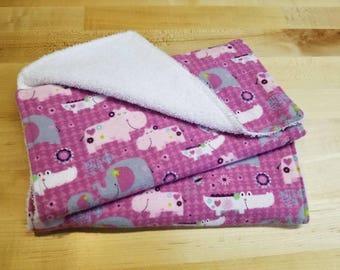 Baby Burp Cloths - Set of 2